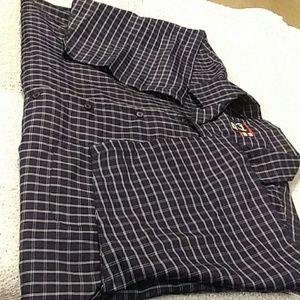 light weight button up shirt